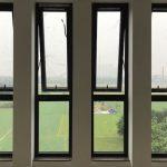 Cửa sổ mở hất 4 cánh nhôm Xingfa