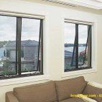 Cửa sổ mở hất 2 cánh nhôm Xingfa